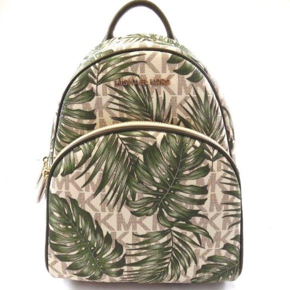 923c0e012dac Michael Kors Bags   Abbey Medium Signature Palm Backpack   Poshmark